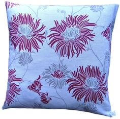 #Cushion #Cover #Kimono #Cranberry #Laura #Ashley #Handmade Red Floral #Scatter £7.60