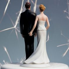 The Love Pinch Funny Wedding Couple Cake Topper (Wedding Star 8664) | Buy at Wedding Favors Unlimited (http://www.weddingfavorsunlimited.com/the_love_pinch_wedding_couple_cake_topper.html).