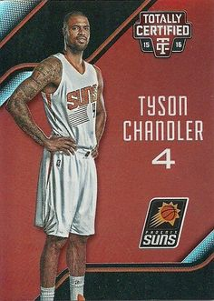 2015-16 TOTALLY CERTIFIED RED #86 TYSON CHANDLER 140/149 SUNS 50 CENT SHIPPING…