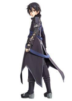 Kirito super cool new costume Kirito Sword, Sword Art Online Kirito, Kirito Kirigaya, Kirito Asuna, Geeks, Sword Art Online Hollow, World Of Warcraft Characters, Grandeur Nature, Sword Art Online Wallpaper