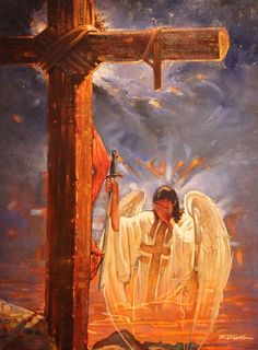 He Could Have Called Ten Thousand Angels by Ron DiCianni