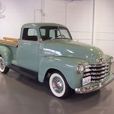 Photo by Roy Podolin Classic Pickup Trucks, Old Pickup Trucks, Farm Trucks, Ford Classic Cars, 1950s Chevy Truck, Chevrolet Trucks, Truck Paint, Old School Cars, Abandoned Cars