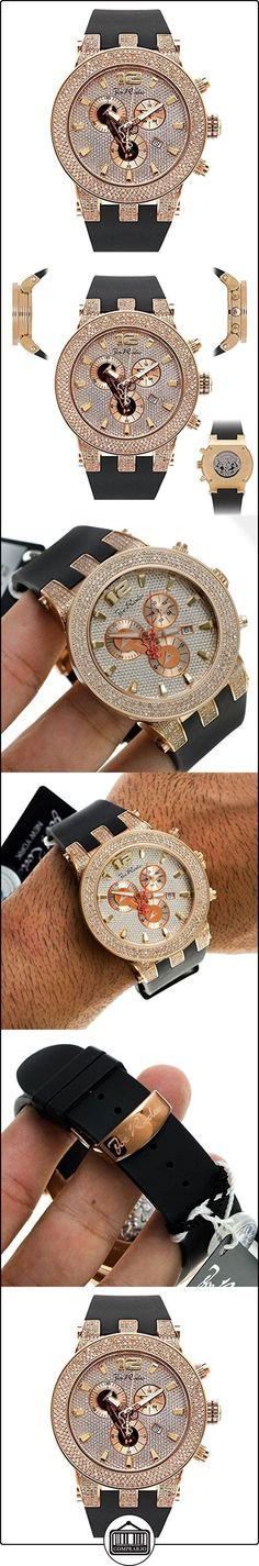 JOE RODEO Diamond Reloj para hombre-Broadway Rose Gold 5quilates de  ✿ Relojes para hombre - (Lujo) ✿