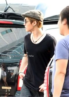 Kim Hyun Joong 김현중 ♡ hat ♡ sunglasses ♡ Kpop ♡ Kdrama ♡