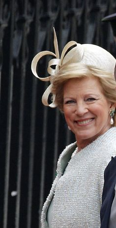 Queen Anne-Marie at Prince William and Kate's wedding, April 29, 2011