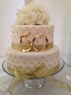 Anniversary - 50th Anniversary Cake