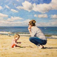 Commission | oil painting by Richard van Mensvoort