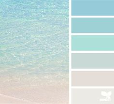 crystal clear - color palette from Design Seeds