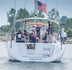 Annual Port Huron-to-Mackinac sailboat race