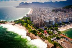 Rio de Janeiro view from above