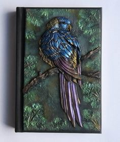 Parrot polymer journal bird forest 200 blank pages