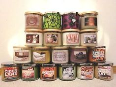 Bath And Body Works Fall Candles