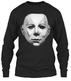 Perfect Halloween Shirt, Horror Costume Black T-Shirt Front Michaels Halloween, Halloween 2, Halloween Horror, Michael Myers, T Shirts, Cool Shirts, Tees, Horror Shirts, Horror Masks