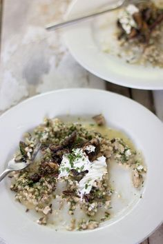 buckwheat risotto | mushroom buckwheat risotto jessica cox