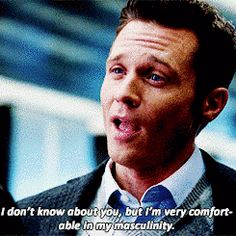"""One time, he said this. 
