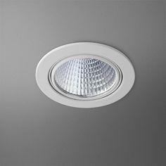 Spot encastré Lampe Horn 1 D8 cm Noir
