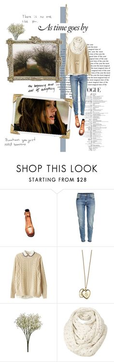 """""""[036] As the time goes by."""" by dr-amat ❤ liked on Polyvore featuring H&M, Orelia, Fat Face and Hello Darling"""