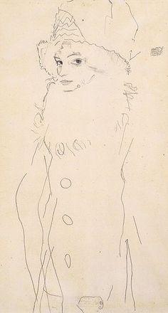 :Egon Schiele - Bildnis Gerti Schiele - 1911