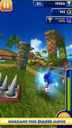 Sonic Dash apk File - unlimited money