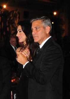 George Clooney is inside!