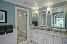 Kitchen and Bath in a Mt. Kisco Colonial - traditional - bathroom - new york - Fivecat Studio | Architecture
