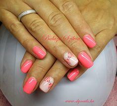 neon pink gél lakk