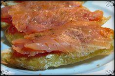 Una chapucillas y cocinillas en casa: Tostas de salmón ahumado