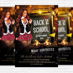 Back To School Vol.2 - Premium Flyer Template + Facebook Cover http://exclusiveflyer.net/product/back-to-school-vol-2-premium-flyer-template-facebook-cover/