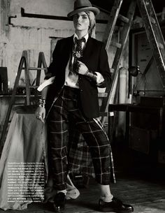 Karlina Caune by Giampaolo Sgura for Vogue Germany May 2013