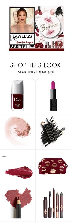 """Untitled #920"" by samha ❤ liked on Polyvore featuring beauty, Christian Dior, NARS Cosmetics, Jennifer Lopez, Urban Decay and Jane Iredale"