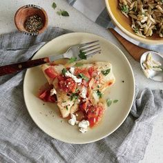 Baked Cod with Feta and Tomatoes | Cooking Light {Nov 2014}