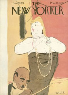 William Galbraith Crawford : Cover art for The New Yorker 406 - 26 November 1932
