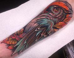 Resultado de imagen para neo traditional wolf tattoo cover up