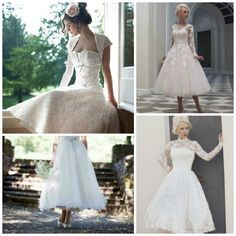 Chic vintage bride lace comes in many forms but here we'll show you how to rock tea dresses, gloves, belts and brooches. Whether you like a little or like a lot, or whether you are slender or curvalicious, being a chic vintage bride in lace isn't hard. #chicvintage #bridallace #wedding