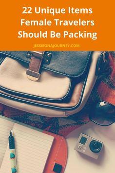 22 Unique Female Travel Gear Items Women Nomads Should Be Packing22 Unique Female Travel Gear Items Women Nomads Should Be Packing