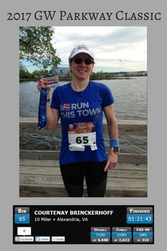 My race recap for the 2017 GW Parkway Classic - the 33rd year of my hometown 10 miler!