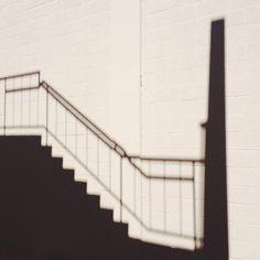#shadow #stairs photo by happymundane on Instagram