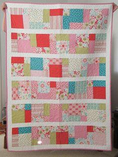 Quilt 1 by Red Stitch Designs, via Flickr