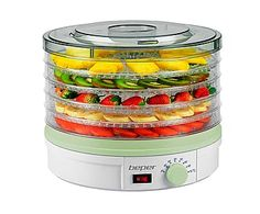 Deshidratador de frutas y vegetales