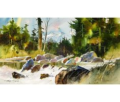 Dillman's Creative Art Workshops - 2016 - Tony Couch - Watercolor: You Can Do It! - August 28-Sept 2, 2016