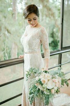 #Ryehan2become1  #davaoweddings #weddingsph #lace #lacey #weddinggown #nude #laceygown