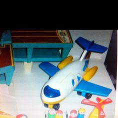 Little people/ I had this plane!!! It was my favorite!!!