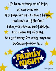 50 Ideas For Family Night - Time spent with family is SO important. Get some inspiration for YOUR family night from these ideas - Family Movie Night, Family Movies, Family Games, Family Activities, Group Games, Indoor Activities, Therapy Activities, Summer Activities, Bingo Night