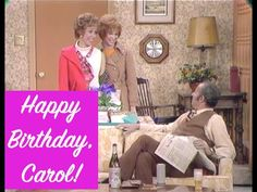 """Let's celebrate with a look back at one truly classic """"Carol & Sis"""" birthday… 🎉🥂🎉 About The Carol Burnett Show While there's no truth . Lyle Waggoner, Harvey Korman, Carol Burnett, Acrylic Painting Lessons, Comedy Tv, Have A Laugh, Hilarious, Funny, Looking Back"""