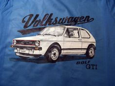 Vw golf mk1 T-shirt