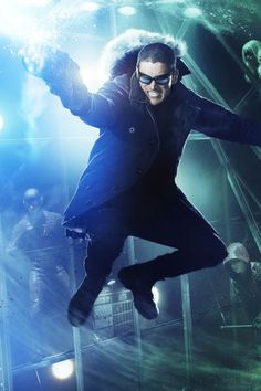 "The Flash  Here's some new ""Fight Club"" posters for Captain Cold, Heatwave and Firestorm"