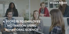 Leaders that set goals and offer support and strategic advice produce incredible outcomes! http://magazine.myaba.today/4-secrets-employee-motivation-using-behavioral-science/