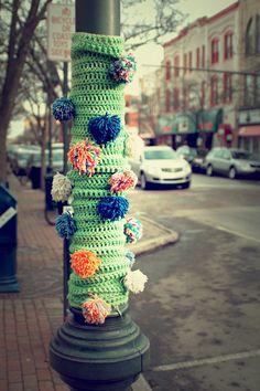 Yarn Bombing...