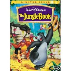 The Jungle Book. I will always think of my 4-year old son dancing around the house with a banana peel on top of his head.