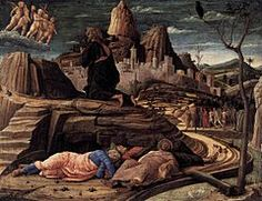 Andrea Mantegna - Agony in the Garden -